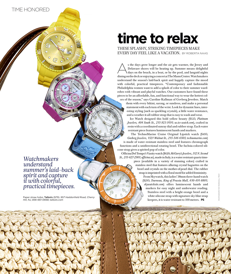 Philly Style Magazine - Time Honored June Issue