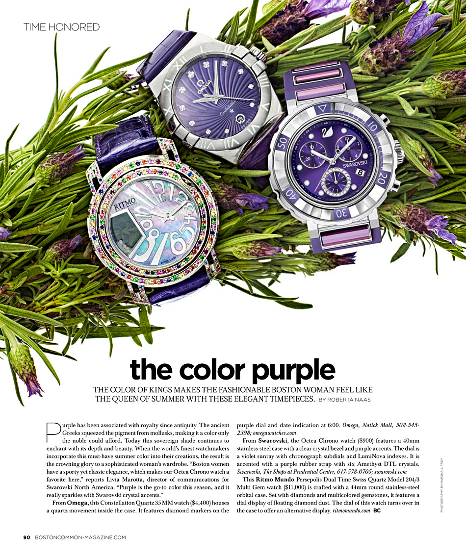 BostonCommon Magazine - The Color Purple