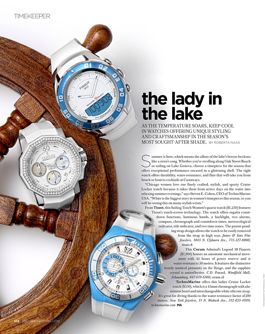 Michigan Ave Magazine - Time Keeper