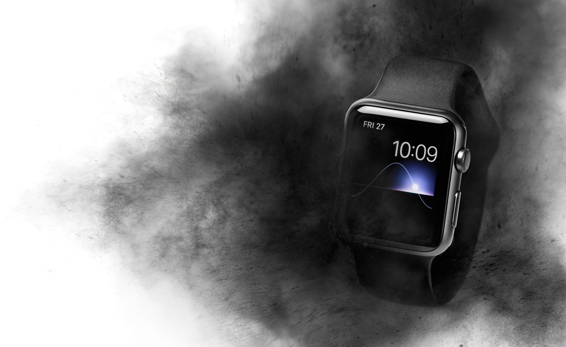 Apple Watch Black Smoke