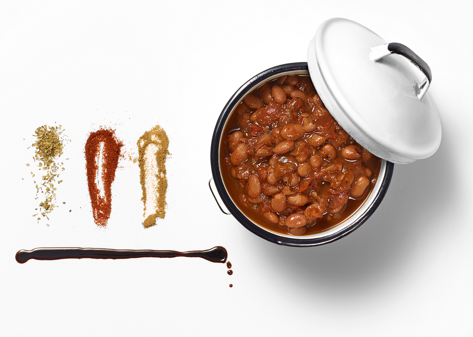 Baked Bean Chili Still Life