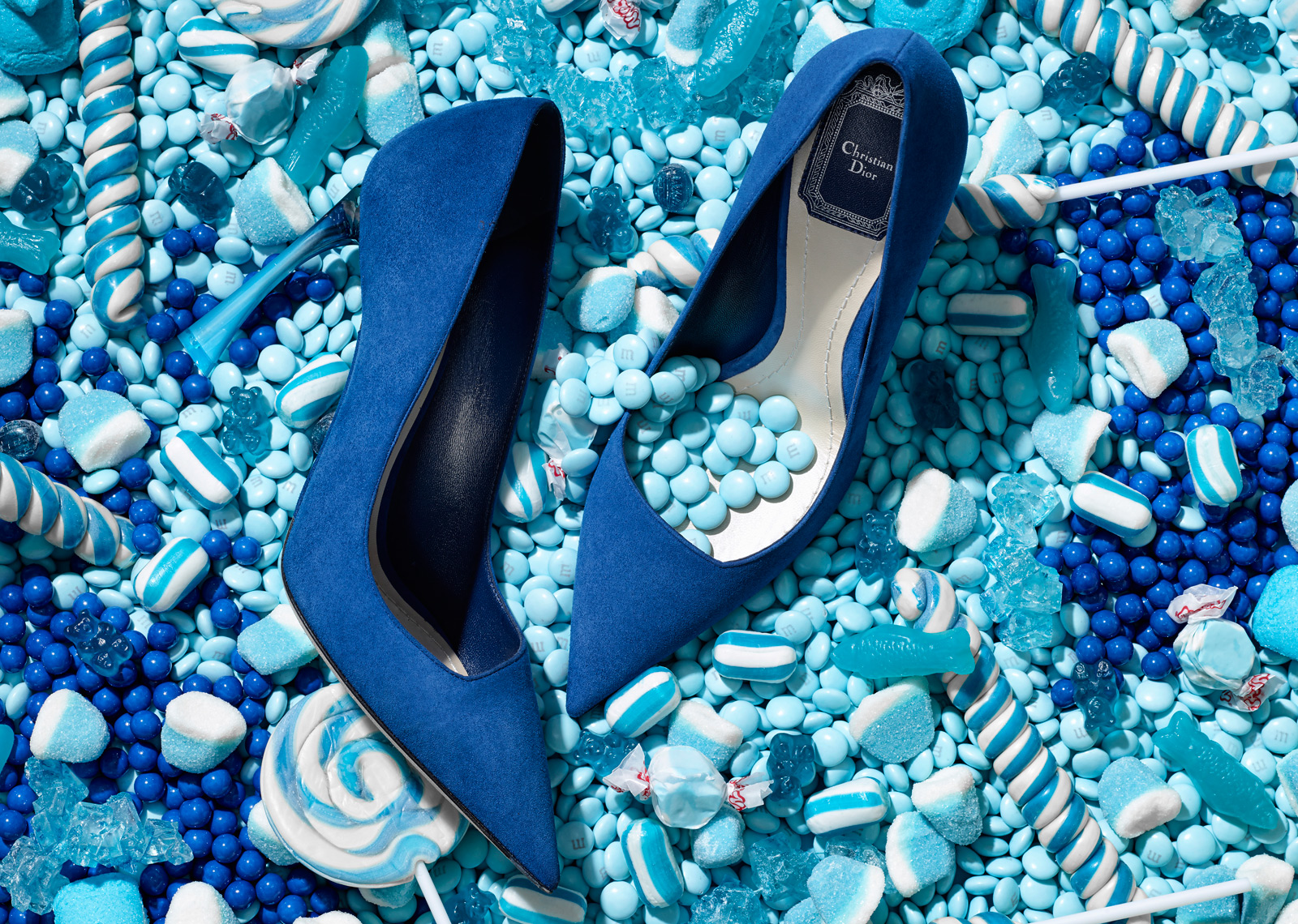 Christian Dior in Candy - Blue