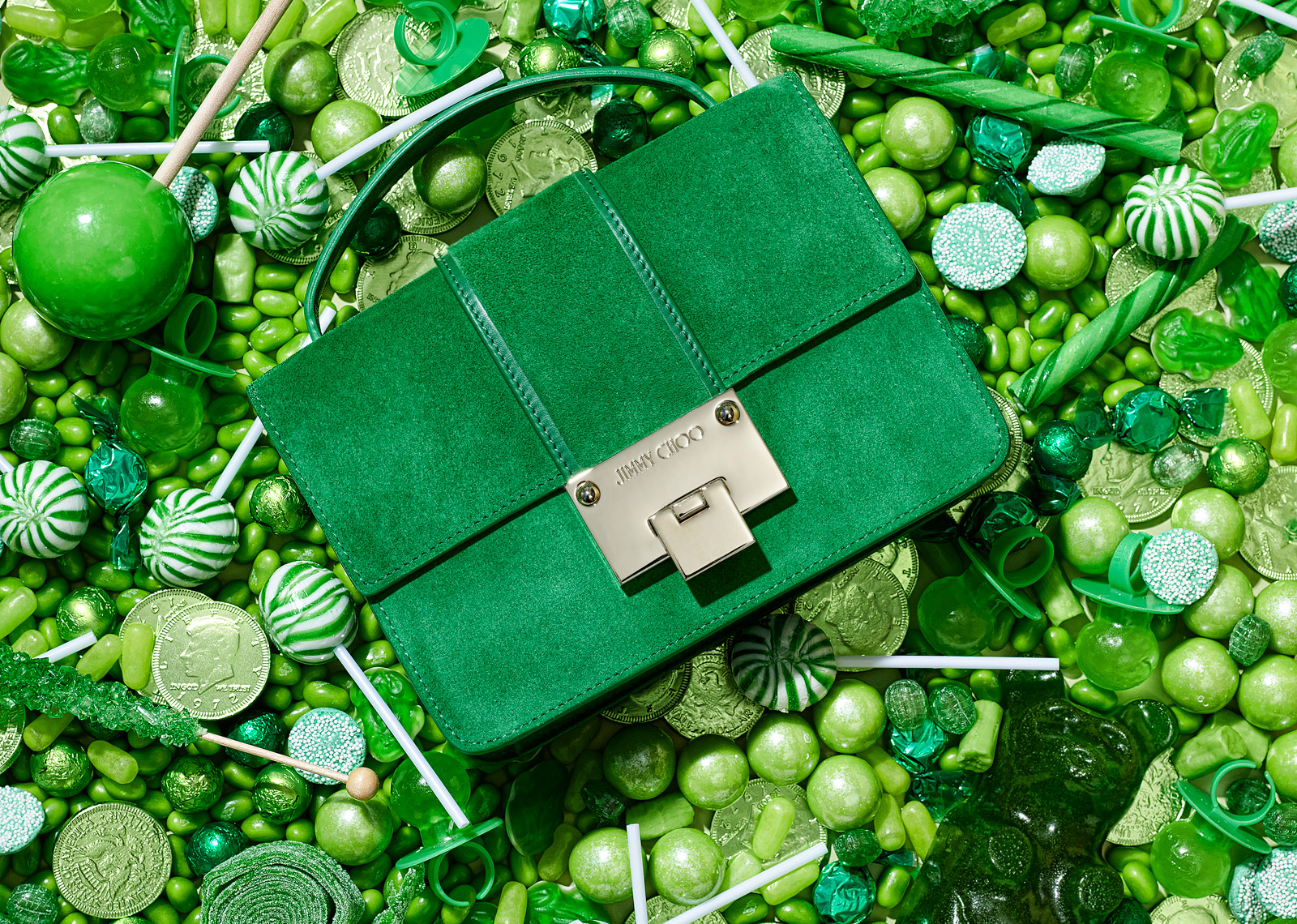 Jimmy Choo in Candy - Green