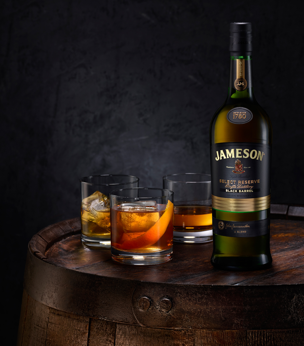 Jameson on Barrel