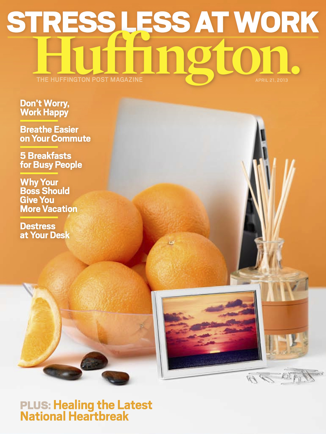 Huffington Post Magazine - April Cover