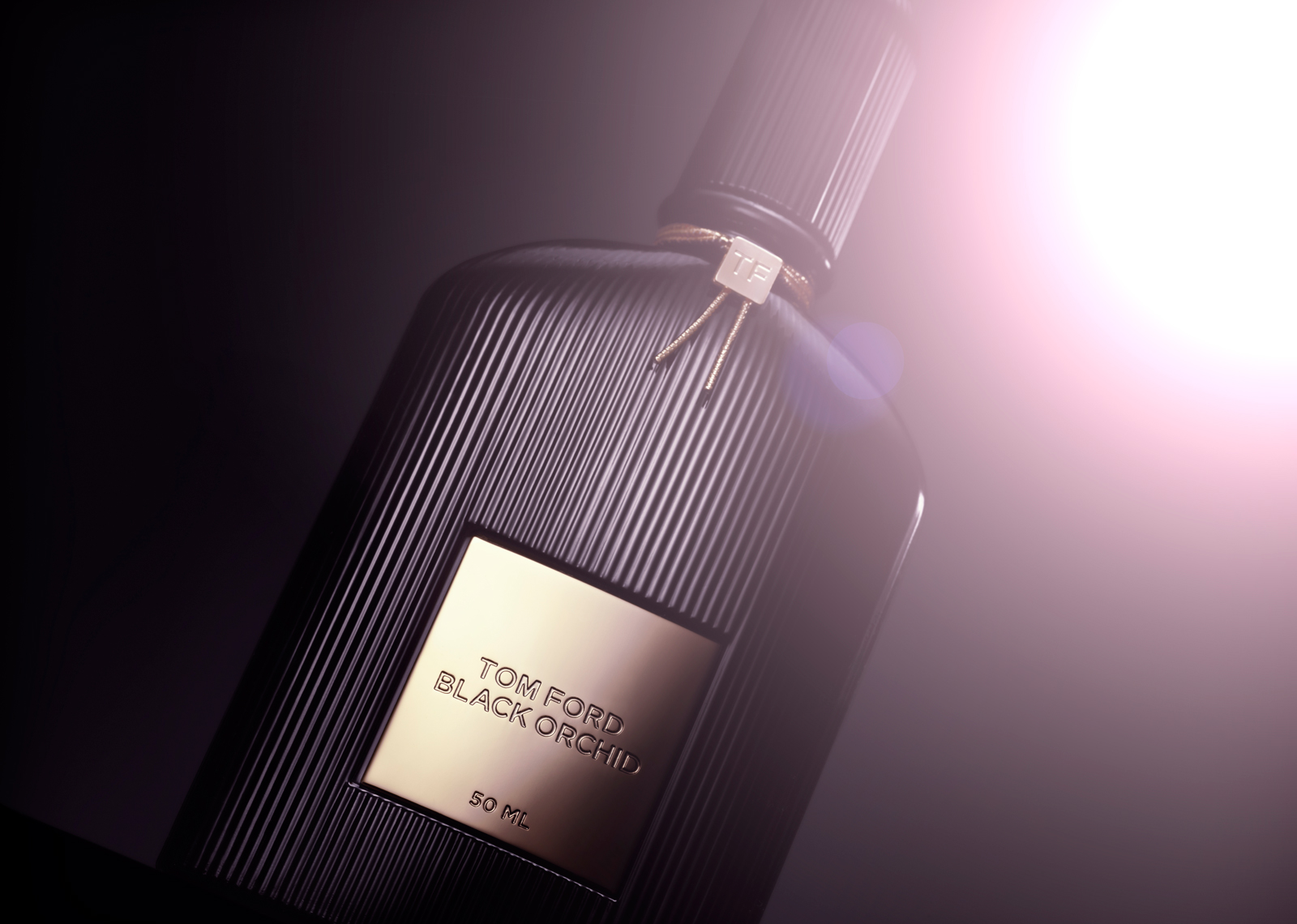Tom Ford Black Orchid Still Life
