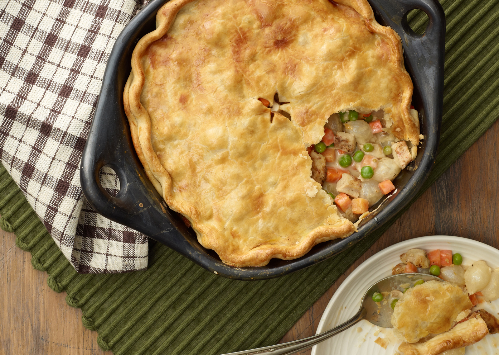 Chicken Pot Pie Still Life