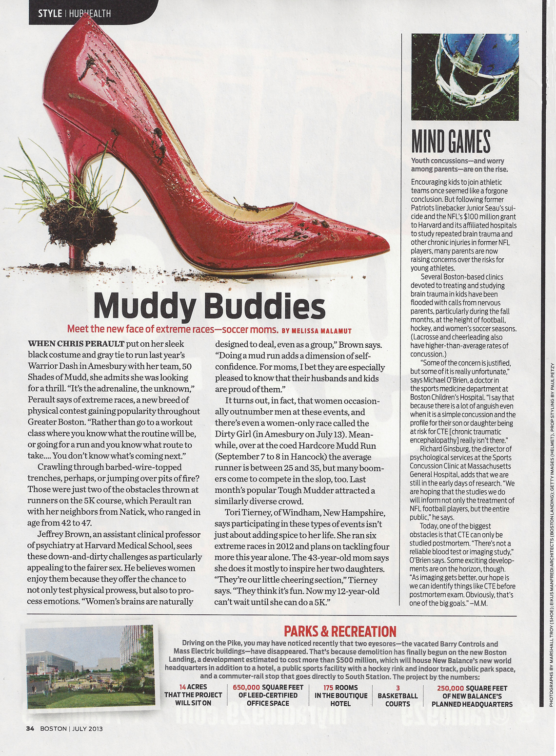 Boston Magazine - Muddy Buddies